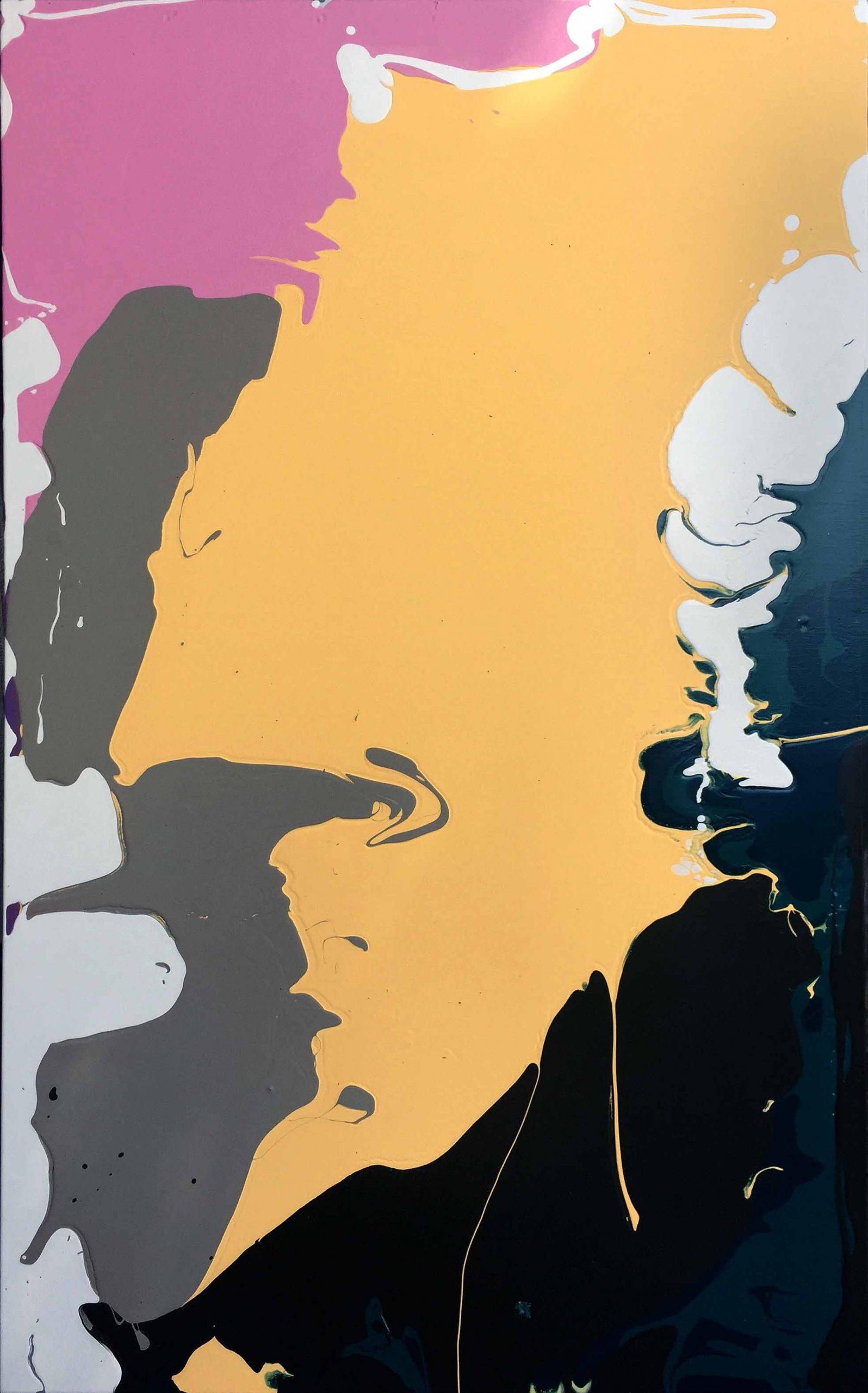 "Construction Collection 1 32"" X 48"", Acrylic on Canvas"